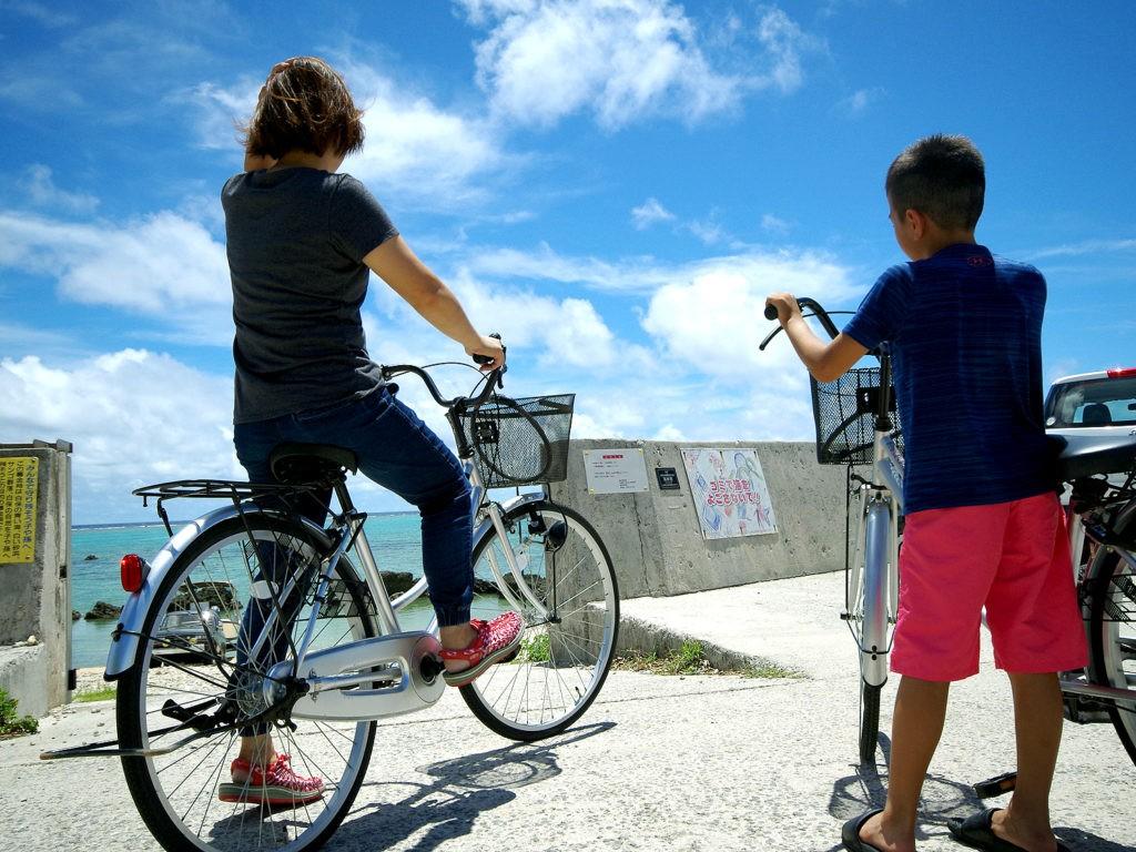 石垣島での自転車ツーリング